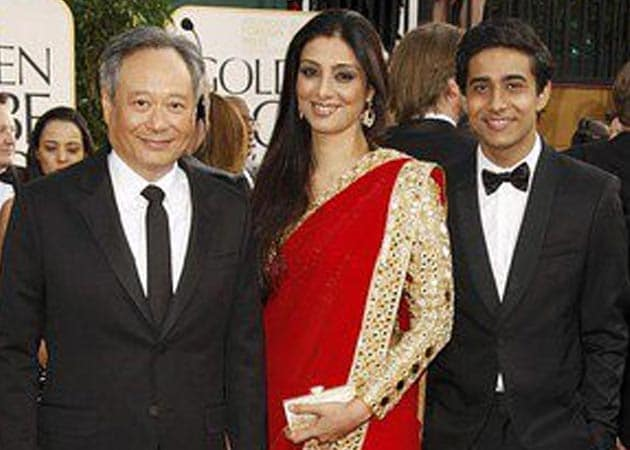 Tabu, Suraj Sharma attend Golden Globes 2013