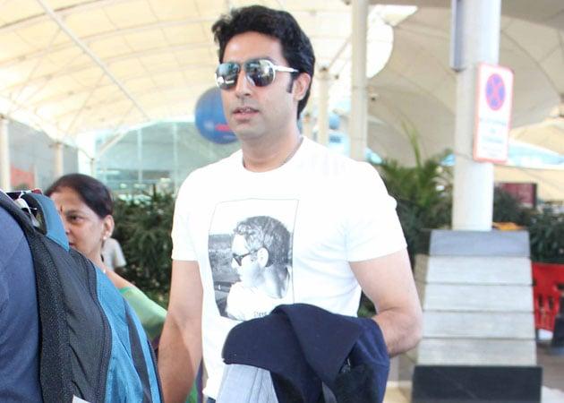 Abhishek Bachchan in Umesh Shukla's Mere Apne