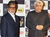 Amitabh Bachchan, a great example for all: Javed Akhtar