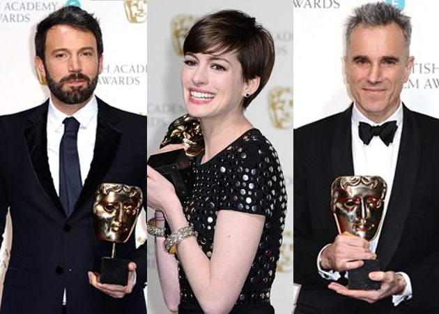BAFTA Film Awards 2013: list of winners