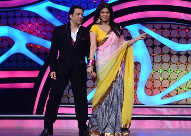 Govinda, Shilpa Shetty set the stage on fire in Nach Baliye 5