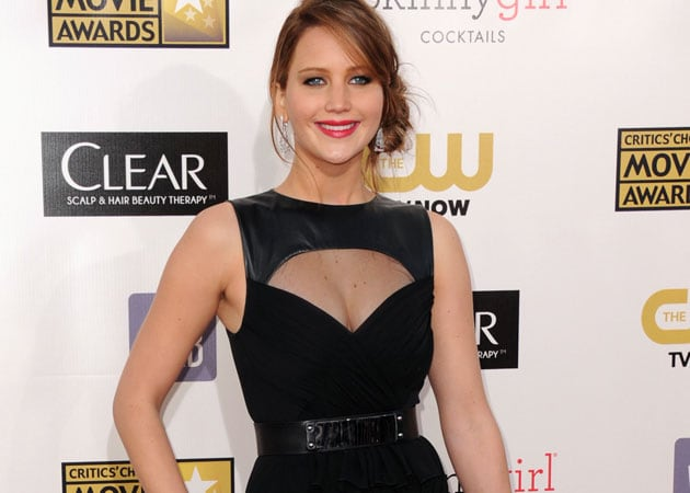 Why Jennifer Lawrence is concerned about her chest