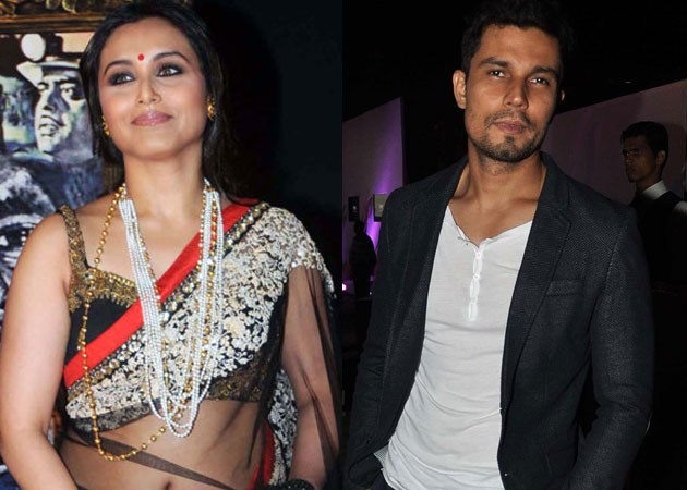 Rani Mukherji, Randeep Hooda team up for Karan Johar's short film