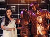 Rani Mukherji gets emotional at unveiling of Yash Chopra's statue