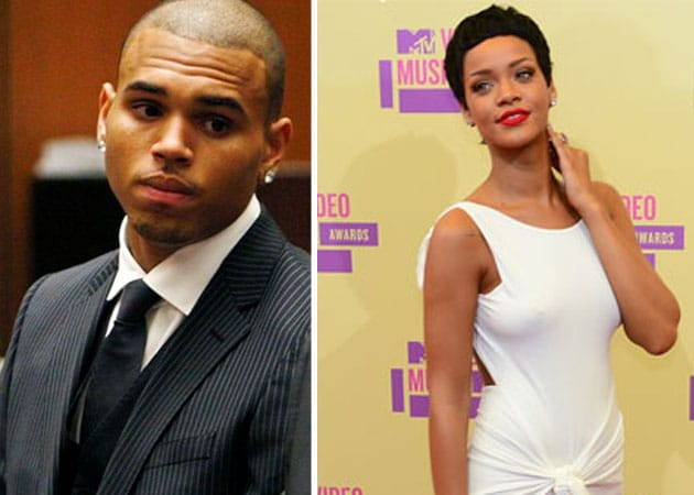 Rihanna attends Chris Brown's court hearing