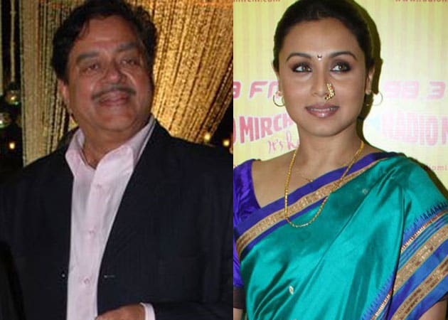 Shatrughan Sinha's oopsie: Rani Chopra instead of Mukherji