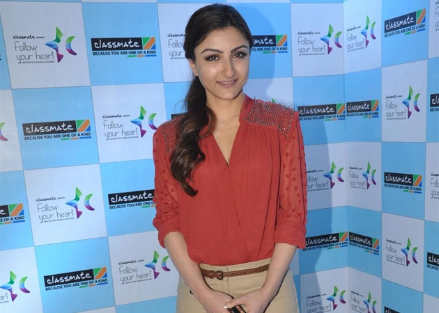 Not under pressure to be visible on big screen: Soha Ali Khan