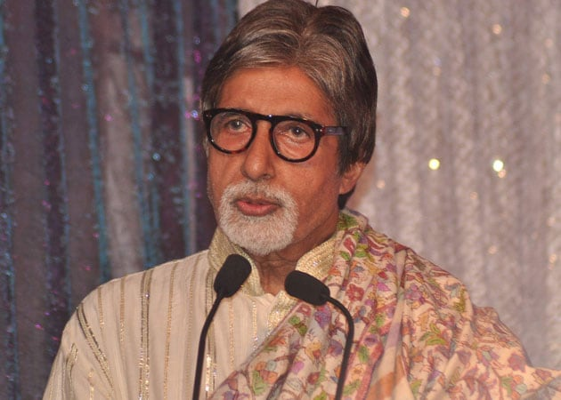Amitabh Bachchan appeals for dry Holi in drought-stricken Maharashtra