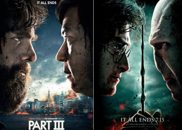 Hangover 3 poster spoofs Harry Potter: Deathly Hallows 2