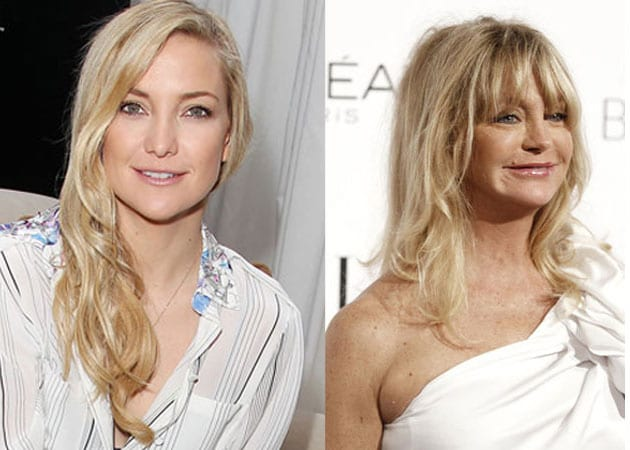 Kate Hudson takes mother Goldie Hawn's advice on parenting