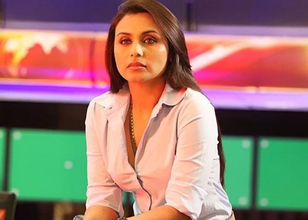 Rani Mukherji plays journalist again in Bombay Talkies
