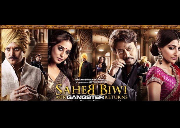 Saheb Biwi Aur Gangster Returns to be screened for the Royal family of Jaipur?