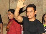 Aamir watches <i>Qayamat Se Qayamat Tak</i> with family, cast and crew