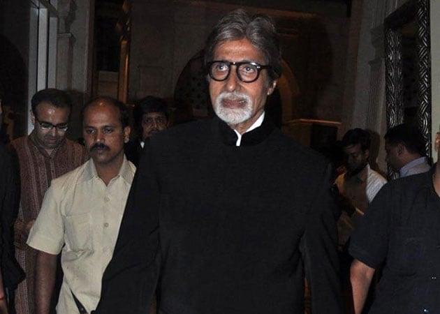 Amitabh Bachchan receives NTR Film Award