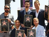 Backstreet Boys land a star on Hollywood Walk of Fame