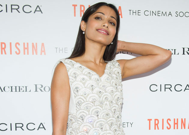 Freida Pinto part of global campaign to empower girls