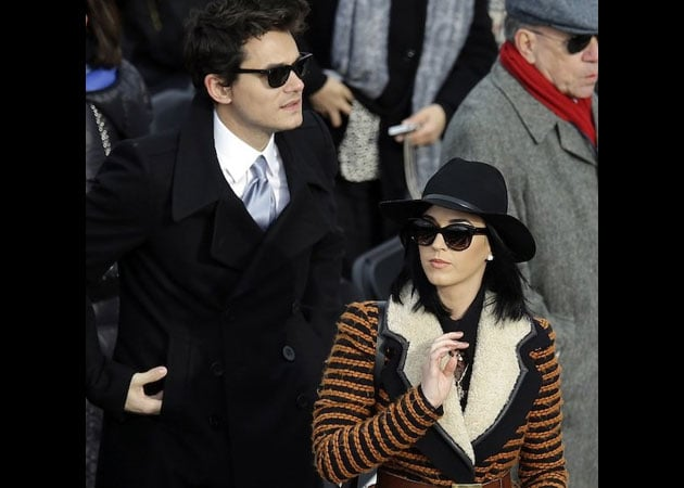 Katy Perry hits the gym to get over split from John Mayer