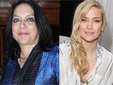 "Mira Nair and Kate Hudson ""really fell in love"""