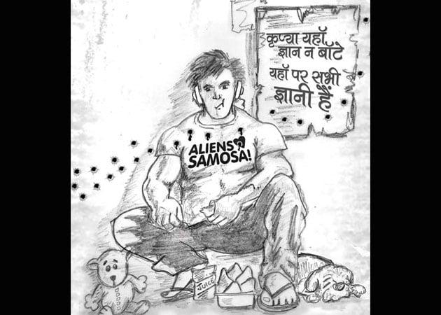 Raftaar Singh Superfast, Punjabi superhero with a samosa fetish