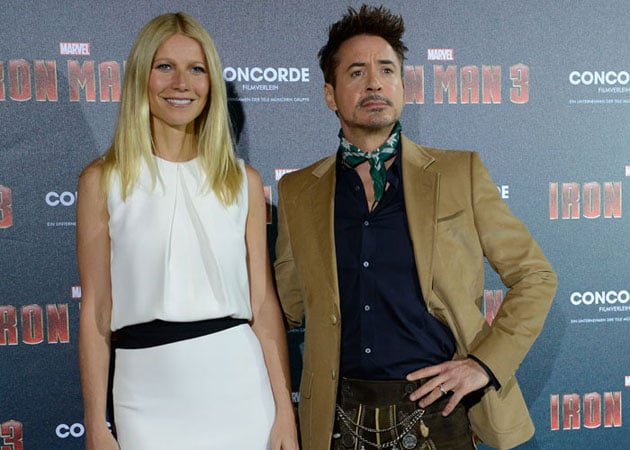 Gwyneth Paltrow thinks Robert Downey Jr is a