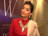 Sonam Kapoor on loving diamonds and stepping into Rekha's shoes