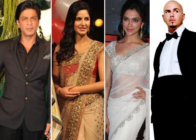 IPL 2013: Shah Rukh Khan, Katrina Kaif, Deepika Padukone, Pitbull showcase diverse culture
