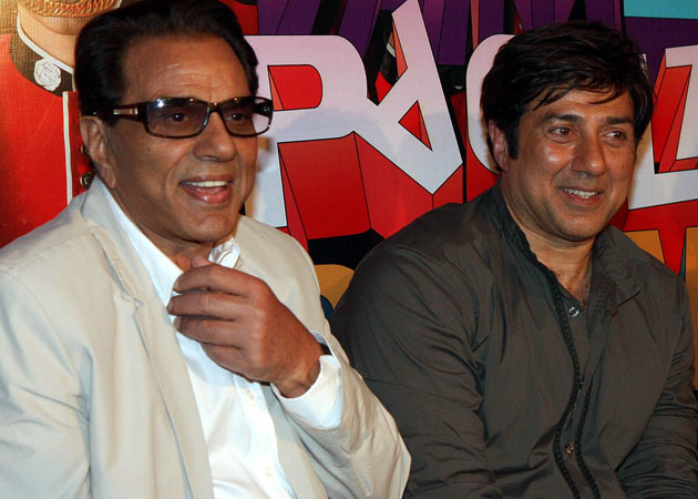 Sunny Deol to reprise Dharmendra's role in Hukumat remake