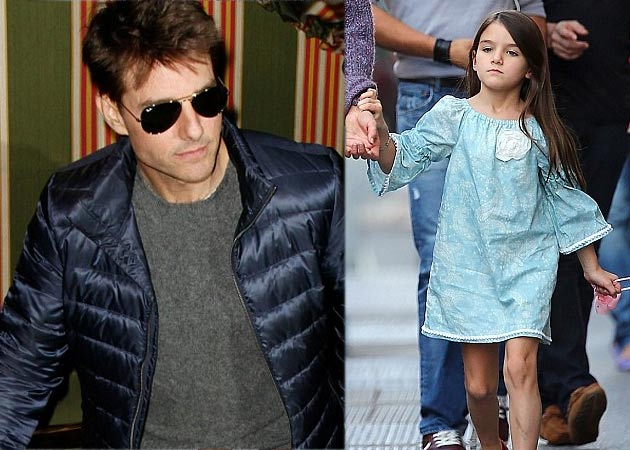 Tom Cruise celebrated his daughter Suri's birthday early