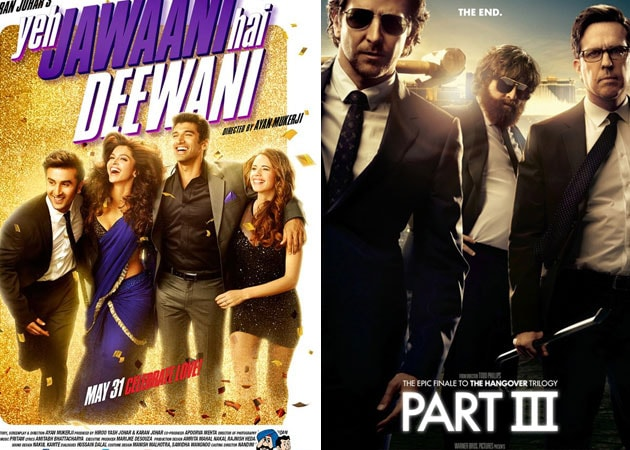 Today's big releases: Yeh Jawaani Hai Deewani, The Hangover Part III