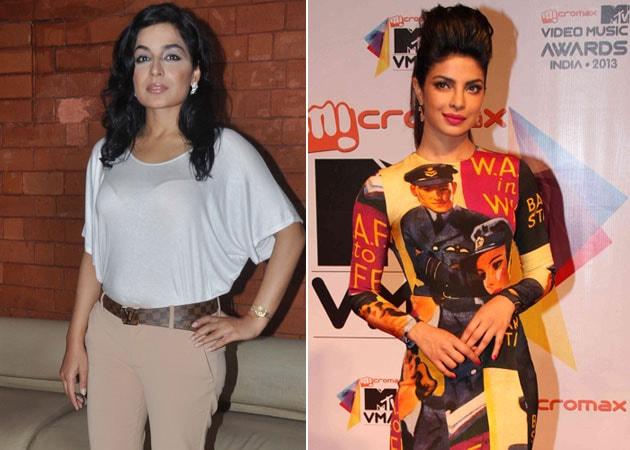 Priyanka Chopra and I don't have a fight, says cousin Meera Chopra
