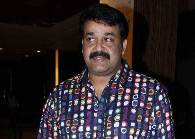 Mohanlal celebrates birthday shooting for film