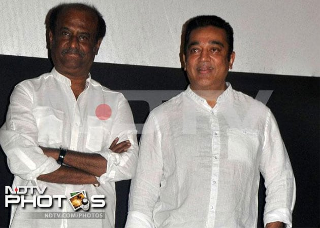 Rajinikanth asks Kamal Haasan to view Kochadaiyaan before release