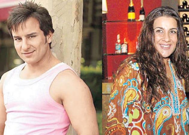 Saif Ali Khan, ex-wife Amrita almost clash at box office