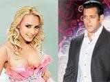 Salman Khan's mystery blonde identified