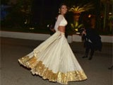 Sherlyn Chopra grooves in Indian outfit at Cannes red carpet