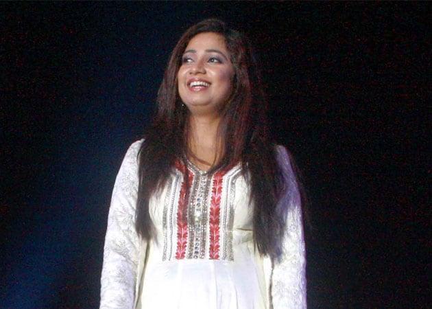 Shreya Ghoshal performs at London's Royal Albert Hall