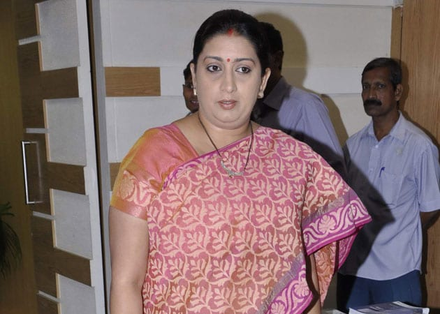 Smriti Irani: It's time that cricket was cleaned up