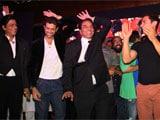 Shah Rukh Khan, Aamir Khan and Hrithik Roshan unveil music of <i>Yamla Pagla Deewana 2</i>