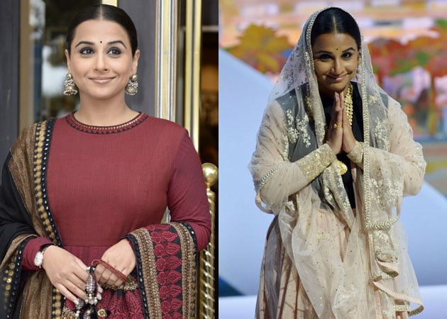 Cannes 2013: Vidya Balan blows a French kiss in Sabyasachi