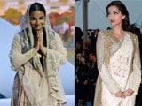 Cannes 2013 fashion report: Sonam Kapoor leads, Vidya Balan trails