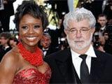 <i>Star Wars</i> director George Lucas marries longtime girlfriend