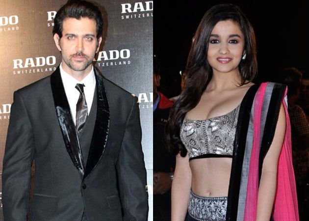 Alia Bhatt wants to paint Hrithik Roshan