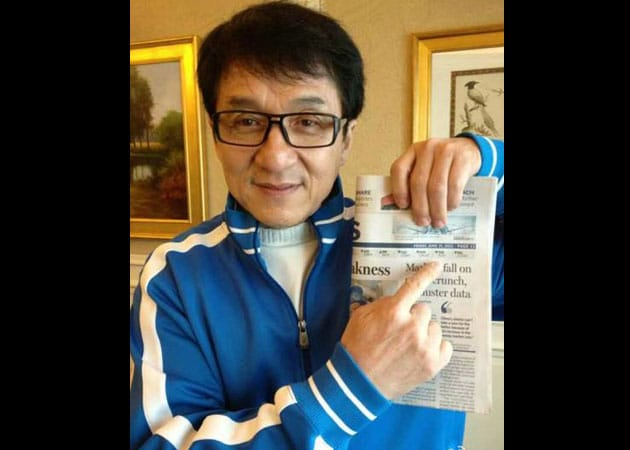 Jackie Chan laughs away online death rumours