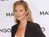 Kate Moss prefers natural look at music festivals