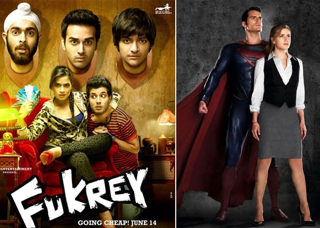 Today's big releases: Man Of Steel and Fukrey