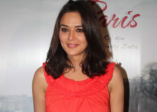 Preity Zinta off for a vacation