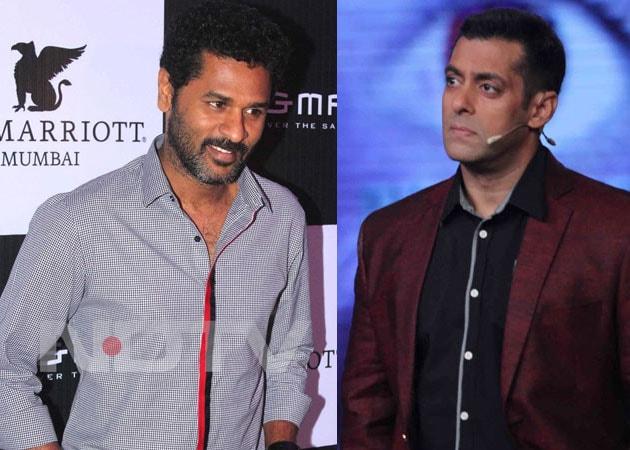 Action time for Salman Khan, Prabhu Deva