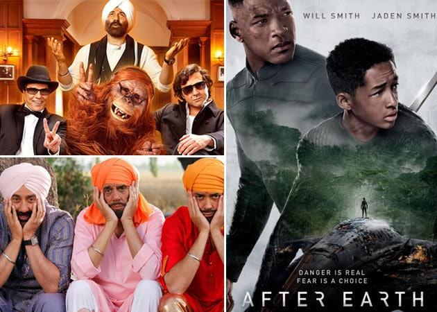 Today's big releases: Yamla Pagla Deewana 2 and After Earth