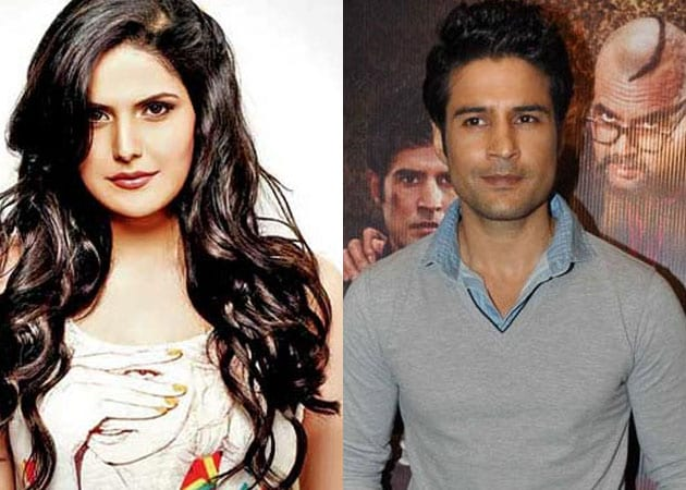 Zareen Khan, Rajeev Khandelwal's narrow escape in car accident