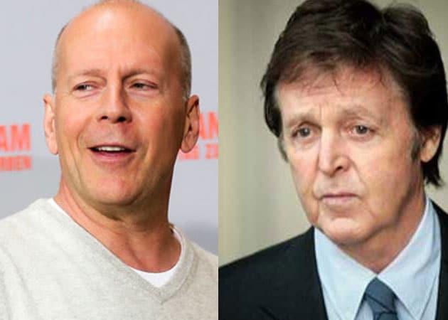 Bruce Willis wants Paul McCartney as co-star in Red 3